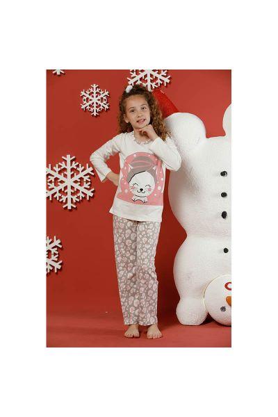 Παιδικές Πιτζάμες με Γατούλα