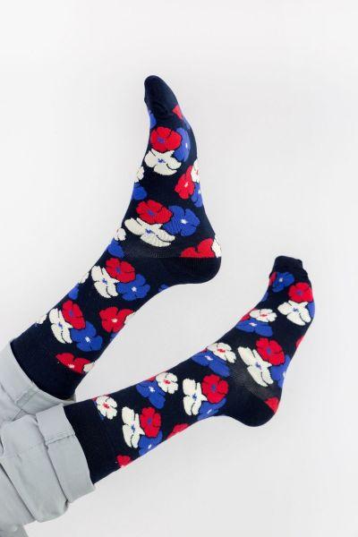 Ανδρικές - Εφηβικές Fashion Κάλτσες Crazy Socks FLOWERS