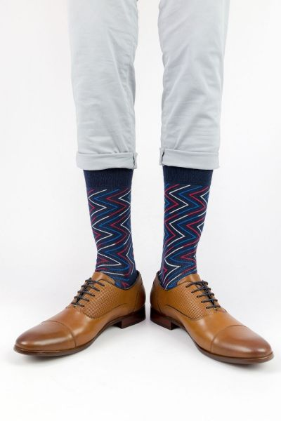 Ανδρικές - Εφηβικές Fashion Κάλτσες Crazy Socks LINES
