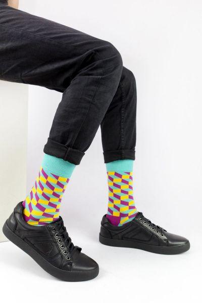 Ανδρικές - Εφηβικές Fashion Κάλτσες Crazy Socks MAD