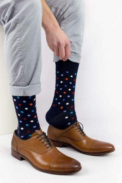Ανδρικές - Εφηβικές Fashion Κάλτσες Crazy Socks MINI DOTS