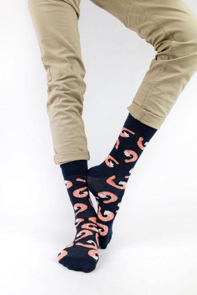 Ανδρικές - Εφηβικές Fashion Κάλτσες Crazy Socks SHRIMPS