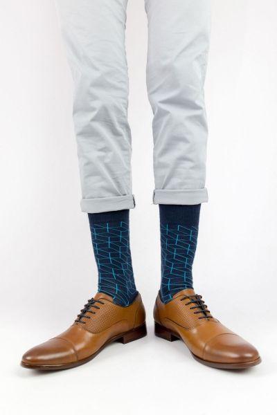 Ανδρικές - Εφηβικές Fashion Κάλτσες Crazy Socks VECTOR