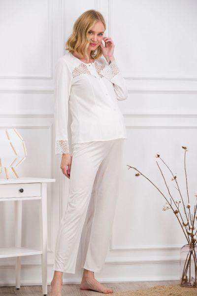Γυναικεία Πιτζάμα Εγκυμοσύνης Arnetta ANGEL