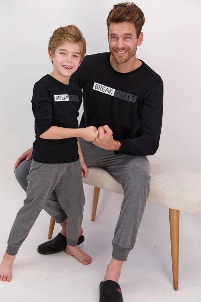 Παιδική πιτζάμα για αγόρι Arnetta BREAK RULES