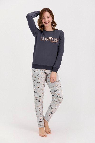 Γυναικεία χειμωνιάτικη πιτζάμα Arnetta CURRENT MOOD