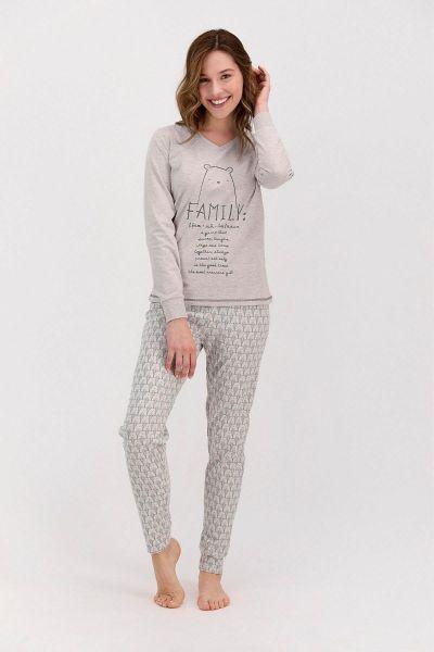 Γυναικεία χειμωνιάτικη πιτζάμα Arnetta FAMILY
