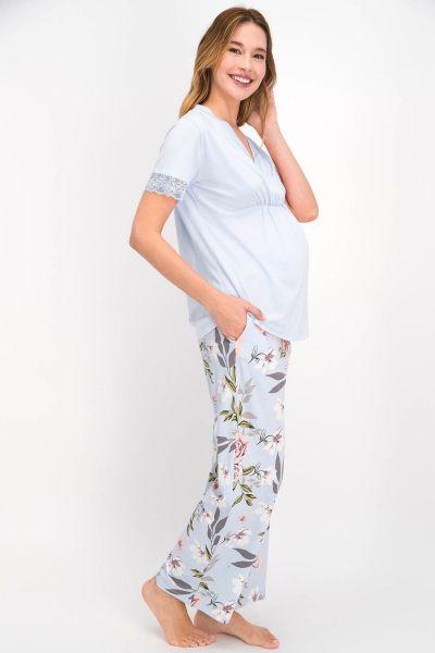 Γυναικεία Πιτζάμα Εγκυμοσύνης Arnetta ROSES