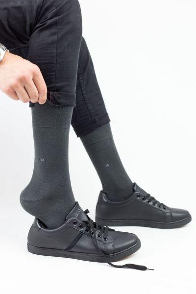Ανδρικές Κλασσικές Κάλτσες Bamboo Design JOHN 2 Ζευγάρια