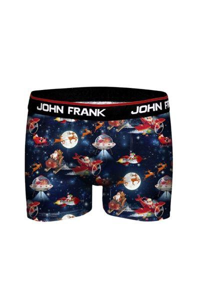 Χριστουγεννιάτικο Εσώρουχο Boxer John Frank SANTA SPACE - Christmas Edition