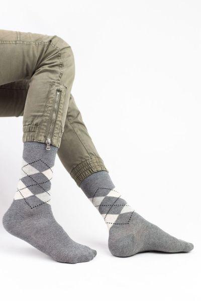 Ανδρικές Casual Κάλτσες Design RHOMBOIDAL