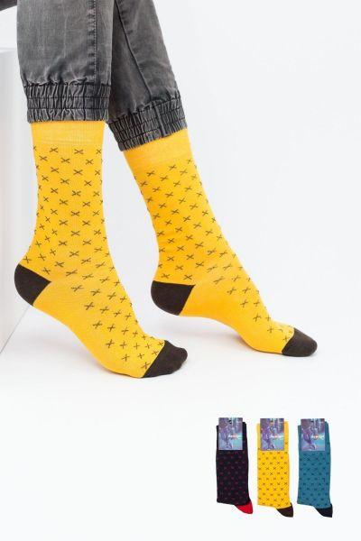 Ανδρικές Casual Κάλτσες Design WRONG I 3 ζευγάρια