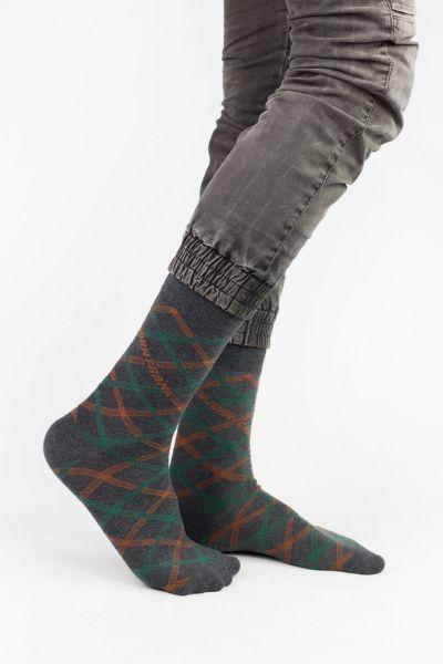Ανδρικές Casual Κάλτσες John Frank CROSSING LINES