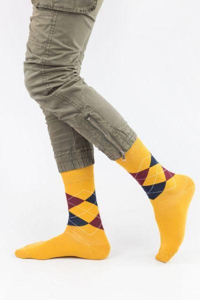 Ανδρικές Casual Κάλτσες John Frank EDGES