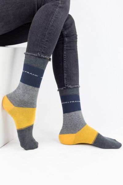 Ανδρικές Casual Κάλτσες John Frank WAVES