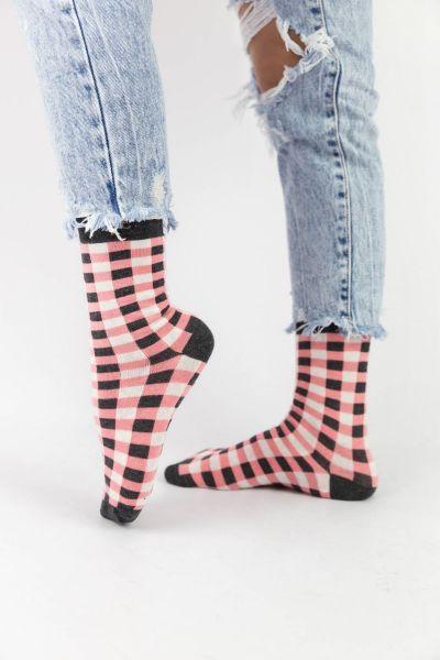Γυναικείες Casual κάλτσες Pamela CHECKERBOAR