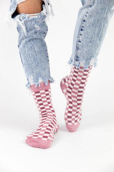 Γυναικείες Casual κάλτσες Pamela CHECKERBOAR Ι