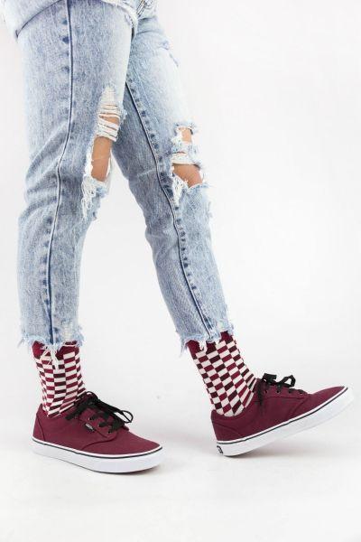 Γυναικείες Casual κάλτσες Pamela CHECKERBOAR III