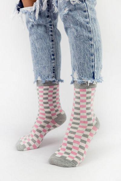 Γυναικείες Casual κάλτσες Pamela CHECKERBOAR IV