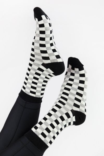 Γυναικείες Casual κάλτσες Pamela CHECKERBOAR VI