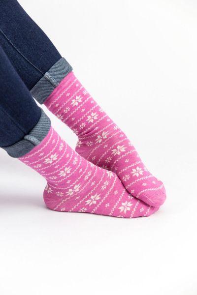 Γυναικείες Casual Κάλτσες Pamela FLOWER I