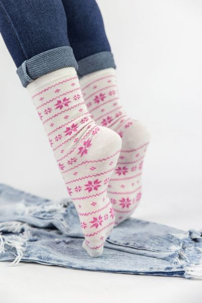 Γυναικείες Casual Κάλτσες Pamela FLOWER II