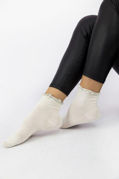 Γυναικείες Casual Κάλτσες Pamela OYSTER II
