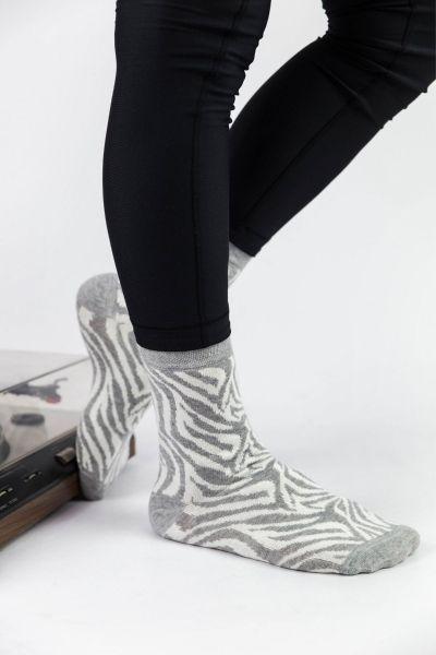 Casual Κάλτσες Pamela ZEBRA II