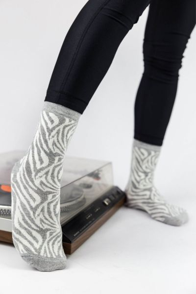 Γυναικείες Casual Κάλτσες Pamela ZEBRA II