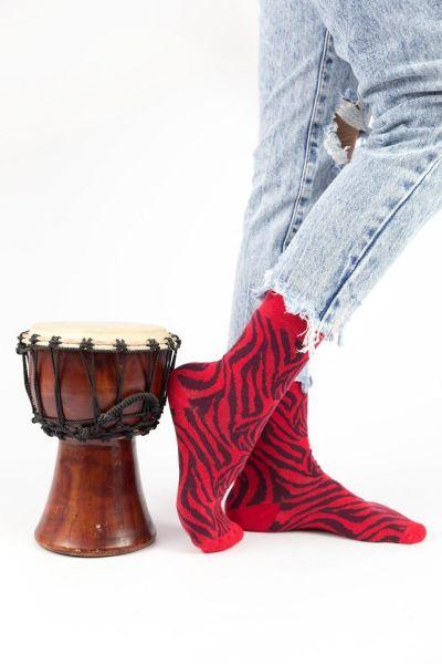 Γυναικείες Casual Κάλτσες Pamela ZEBRA III