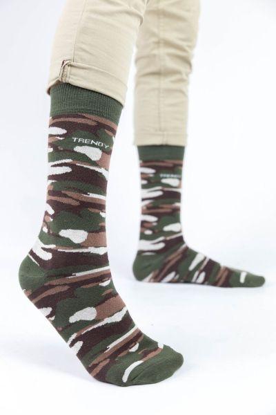 Ανδρικές Casual Κάλτσες Trendy MILITARY