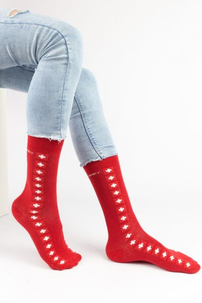 Ανδρικές Casual Κάλτσες Trendy RED CROSS I