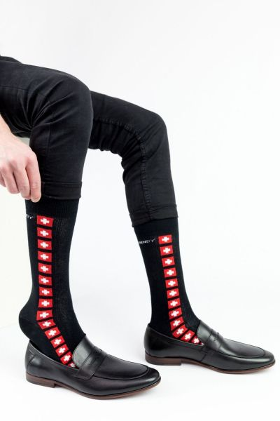 Ανδρικές Casual Κάλτσες Trendy RED CROSS II