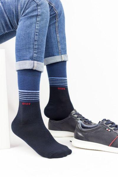 Κάλτσες classic Design 3 ζευγάρια μονόχρωμα ALEX