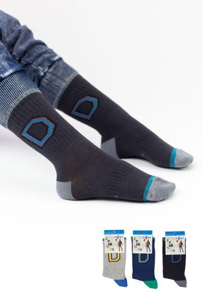 Παιδικές κάλτσες για αγόρι Design 3D II 3 ζευγάρια