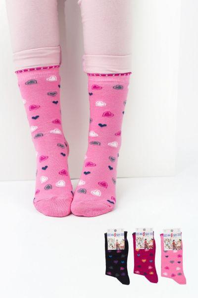 Παιδικές κάλτσες για κορίτσι Design BUMPING I 3 ζευγάρια