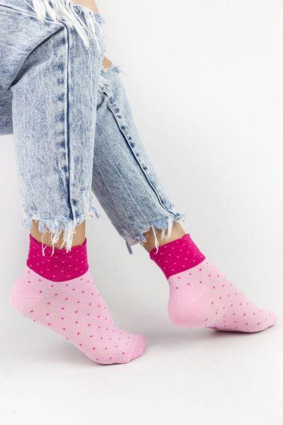 Γυναικείες ημίκοντες κάλτσες Design DOTS