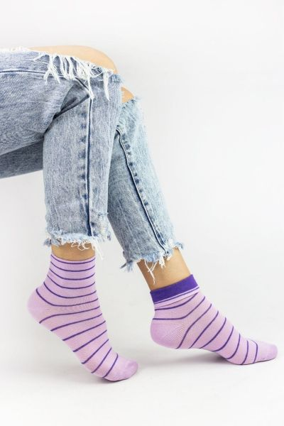Γυναικείες Ημίκοντες Κάλτσες Design LINES