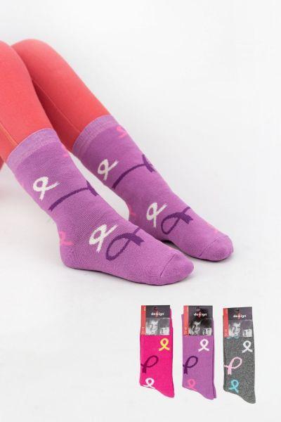 Παιδικές κάλτσες για κορίτσι Design RIBBON 4 ζευγάρια