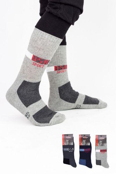 Παιδικές κάλτσες για αγόρι  Design SPORT 3 ζευγάρια