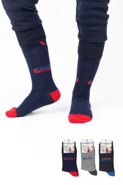Παιδικές κάλτσες για αγόρι Design SPORTS I 3 ζευγάρια