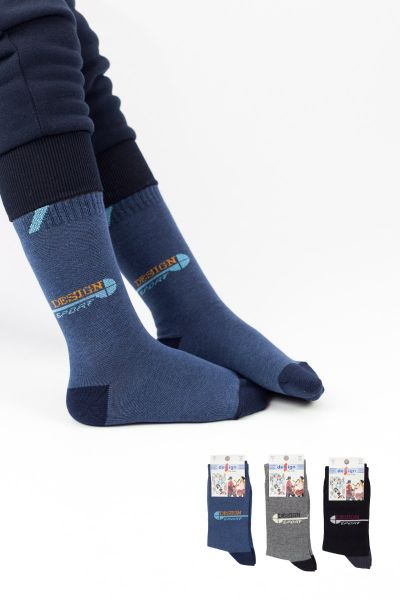 Παιδικές κάλτσες για αγόρι  Design SPORTS II 3 ζευγάρια