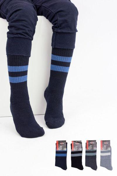 Παιδικές κάλτσες για αγόρι Design STRIPES 4 ζευγάρια