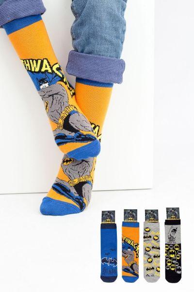 Παιδικές κάλτσες για αγόρι Disney BATMAN 3 ζευγάρια