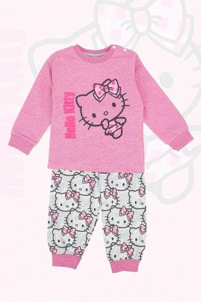 Παιδική χειμωνιάτικη πιτζάμα Disney HELLO KITTY