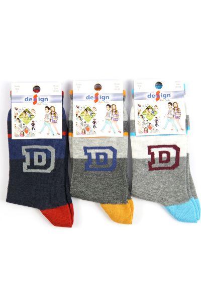 Παιδικές κάλτσες Design 3 τεμάχια