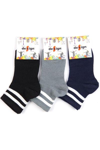 Παιδικές αθλητικές κάλτσες Design Half Angle 3 τεμάχια