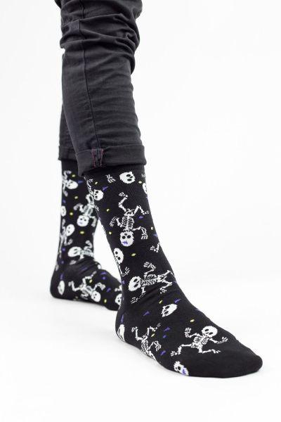 Ανδρικές Fashion Κάλτσες Cotbox SKELETON MAN