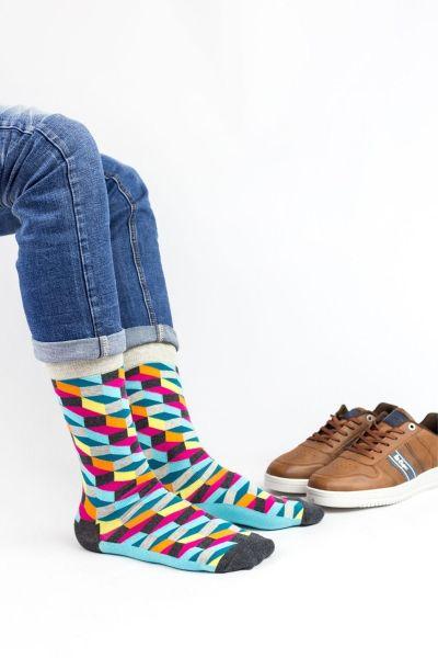 Ανδρικές Fashion Κάλτσες Crazy Socks 3D II