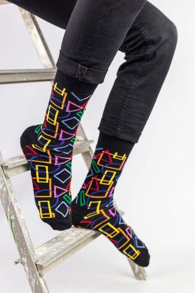 Ανδρικές Fashion Κάλτσες Crazy Socks GEOMETRICAL